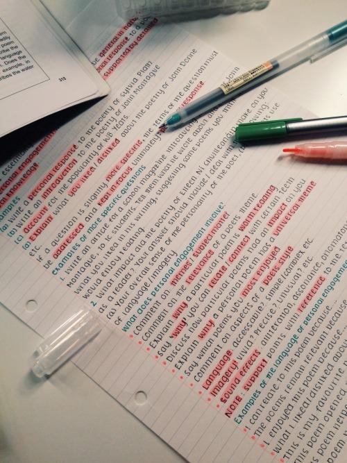 Resolver el problema de los exámenes